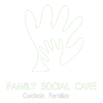 logo blanco family social care